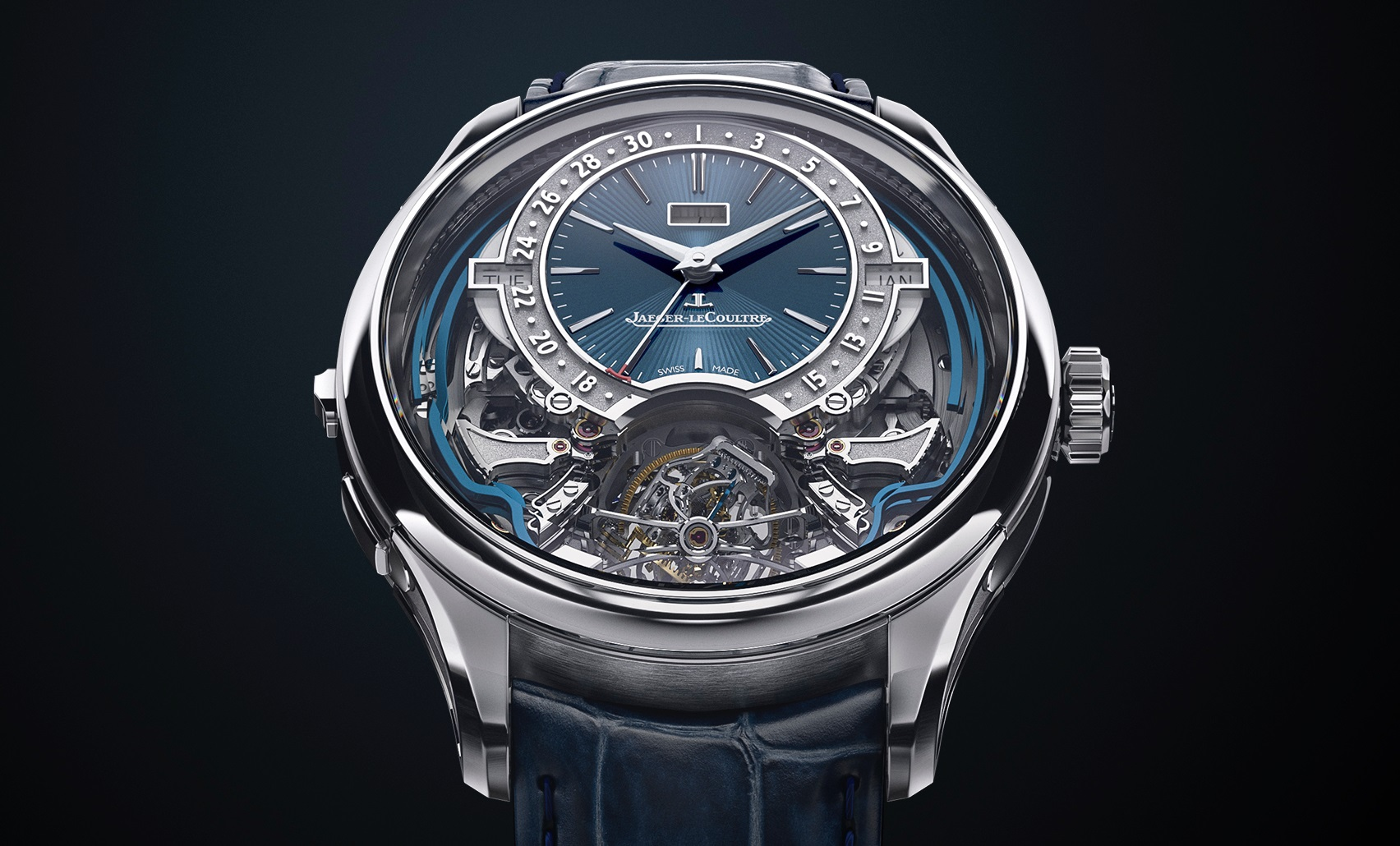 Jaeger LeCoultre - Master Grande Tradition Gyrotourbillon Westminster Perpetual