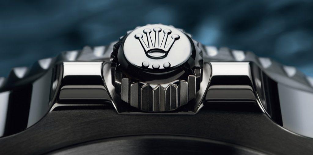 Rolex Saat - Tepe Düğmesi Marka Logosu