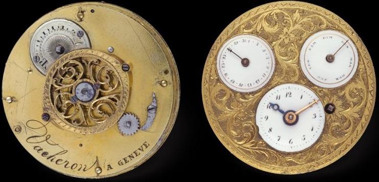 Vacheron Constantin Arabesk Duvar Saati İşlemesi