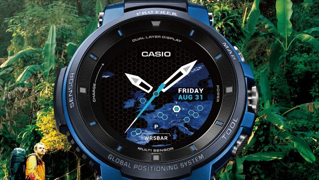 CASIO-Pro Trek WSD-F30 Akıllı Saat