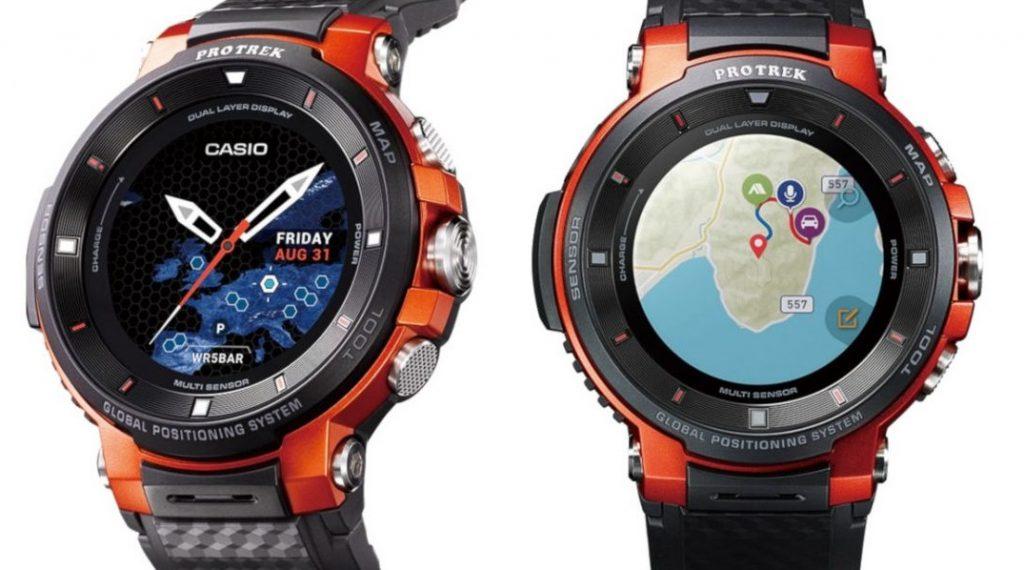 Casio - Pro Trek WSD-F30 Akıllı Saat