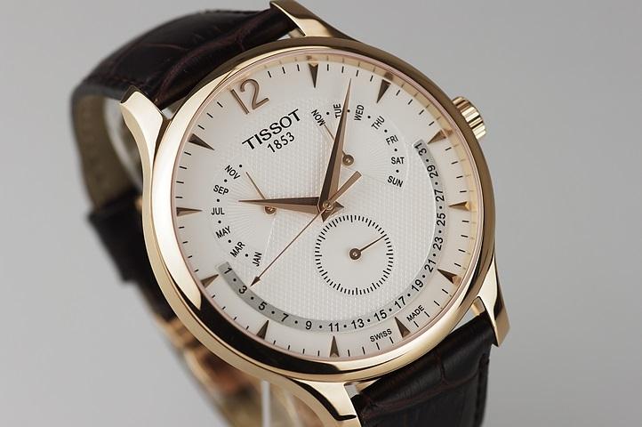 Tissot - T063.637.36.037.00 Deri Kayışlı Quartz Saat Modeli