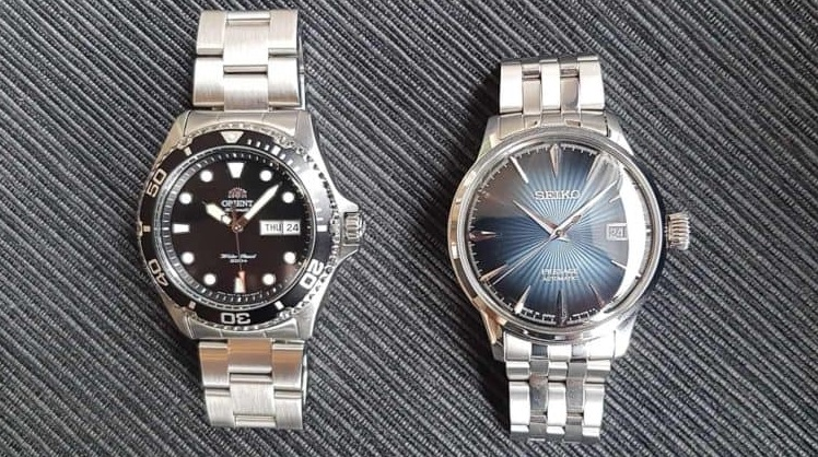 Orient-ray2 vs Seiko