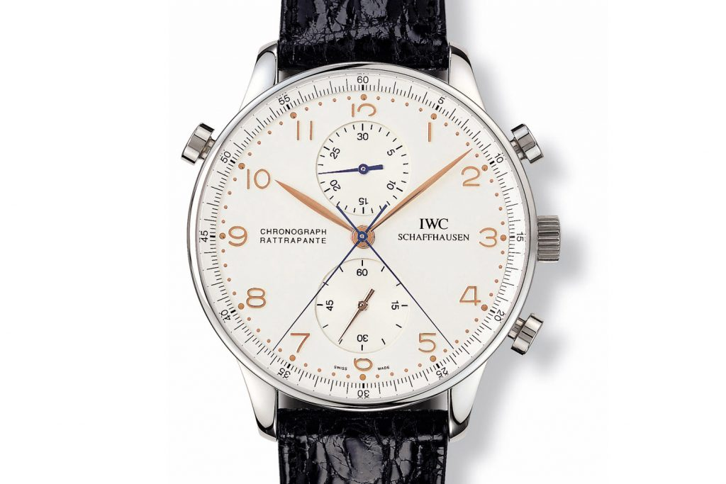 IWC - Portugieser Chronograph Rattrapante 1995 Ref. 3712