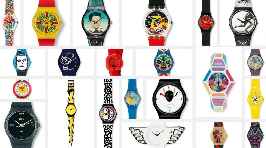 1980 - 1990'lı yılların Swatch saatleri