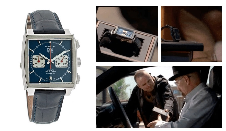 Tag Heuer - Monaco, Breaking Bad - Walter White