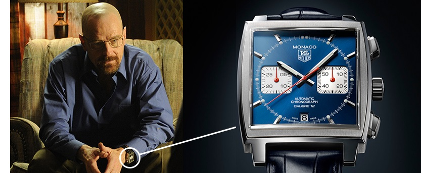 Breaking Bad Walter White - Tag Heuer Monaco