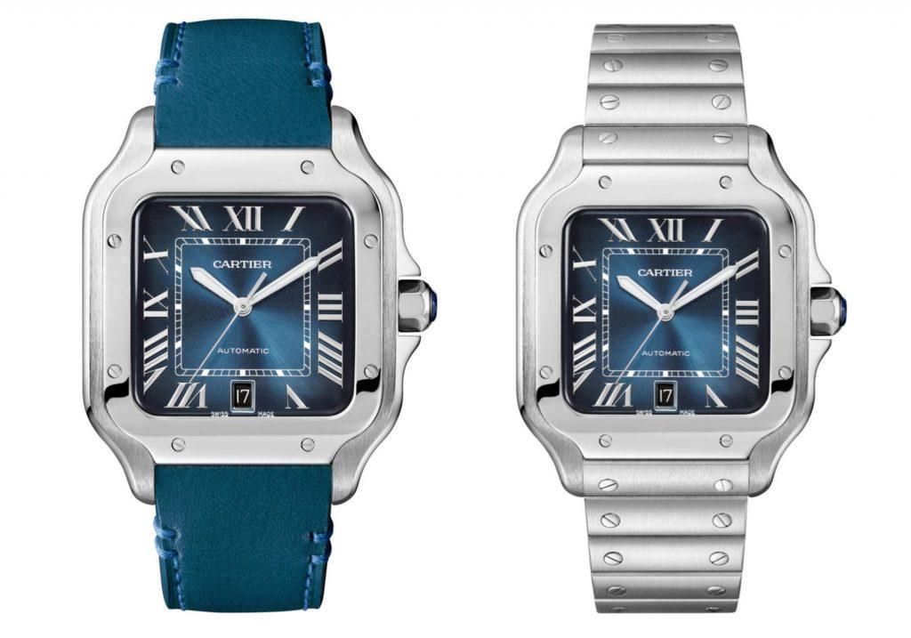 Cartier - Santos Large Gradient Blue