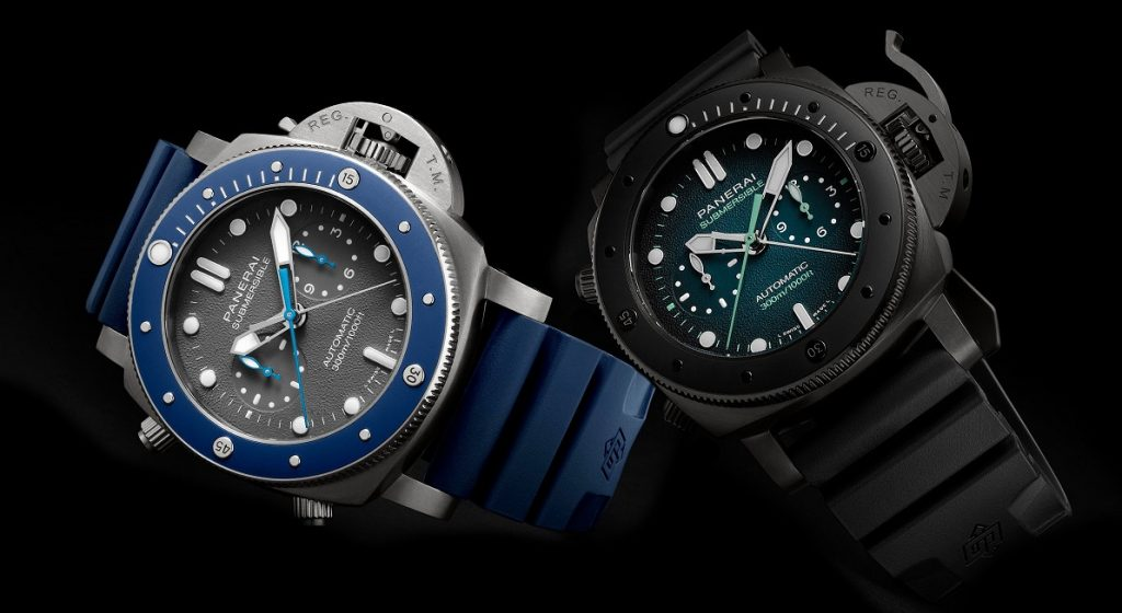 Panerai - Submersible Chrono Guillaume Néry Edition PAM00982