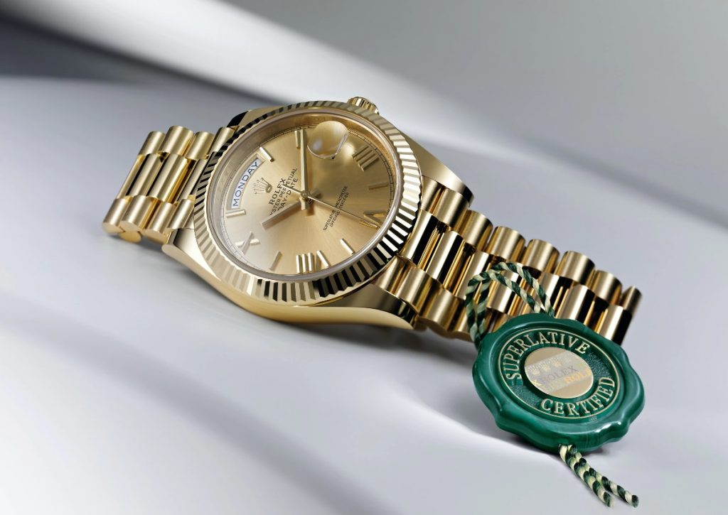 Rolex - Oyster Perpetual Day-Date 40 ve Green Seal
