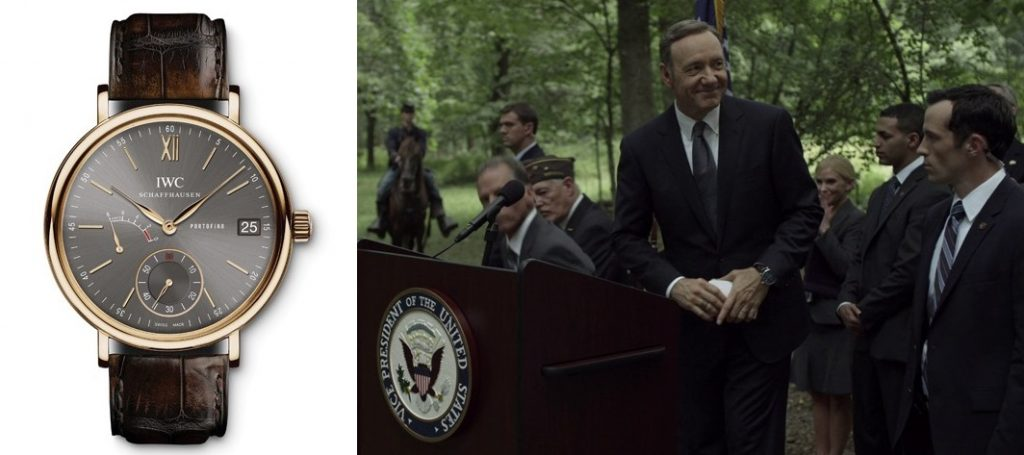 House of Cards - IWC - Portofino Handwound
