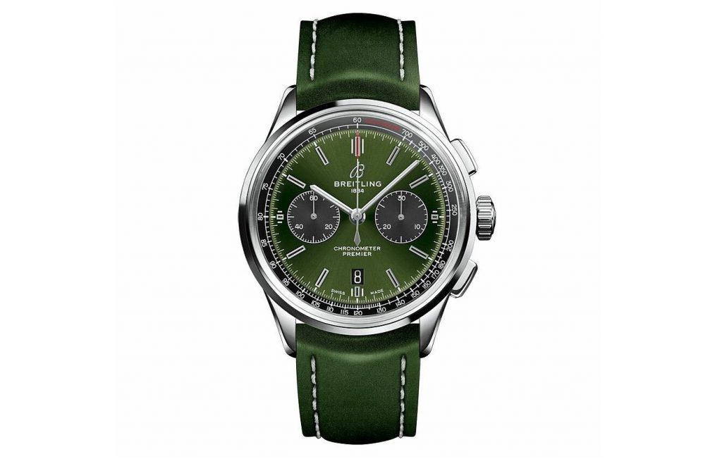 Breitling - Premier B01 Choronograph 42 Bentley British Racing Green
