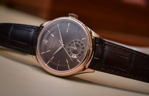 Rolex Cellini 50525 Multiple Time Zone Watch 18K Rose Gold