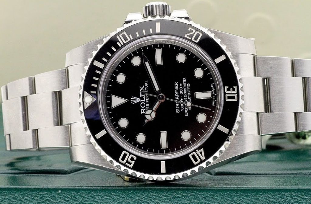Rolex Submariner Black Dial Stainless Steel Automatic
