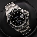 Rolex Submariner Date Black Dial Steel