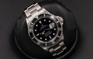 Rolex Submariner Date Black Dial Steel