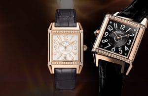 Jaeger-LeCoultre - Reverso Squadra Lady Duetto Pink Gold Saat Modeli