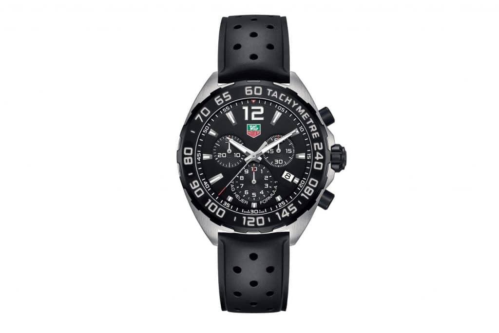 TAG Heuer - Formula 1 Chronograph Steel & Black Erkek Saati