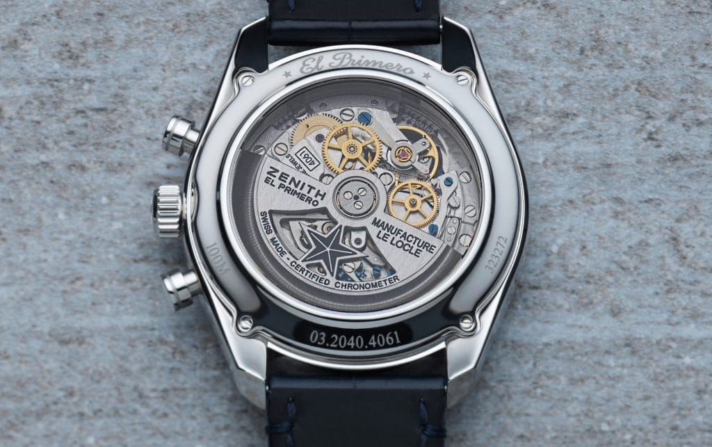 Zenith - El-Primero Saat Mekanizması