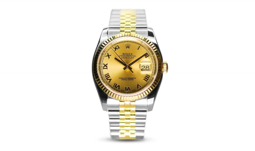 Rolex - Oyster Perpetual Steel Yellow Gold Datejust