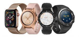 2019 smartwatches akıllı saatler