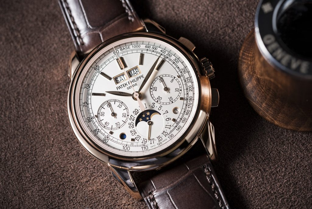 Patek Philippe Perpetual Calendar Moon Phase Chronograph Watch