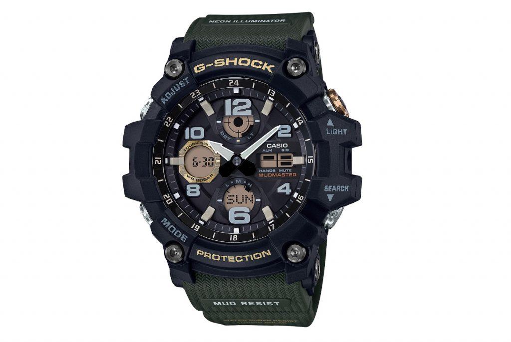 Casio G Shock GSG100-1A3 Mudmaster Erkek Saati