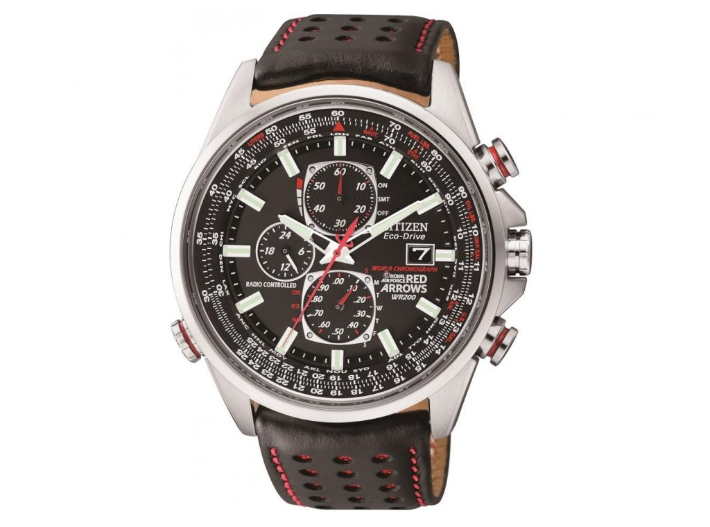 Citizen Eco Drive Red Arrows AT D9 Chronograph AT8060-09E Saat Modeli