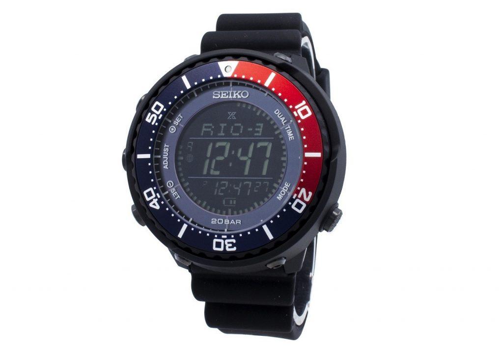 Seiko Prospex SBEP003 Fieldmaster Lowercase Dual Time 200M Dalgıç Saati