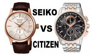 Seiko vs Citizen Saat Karşılastırması