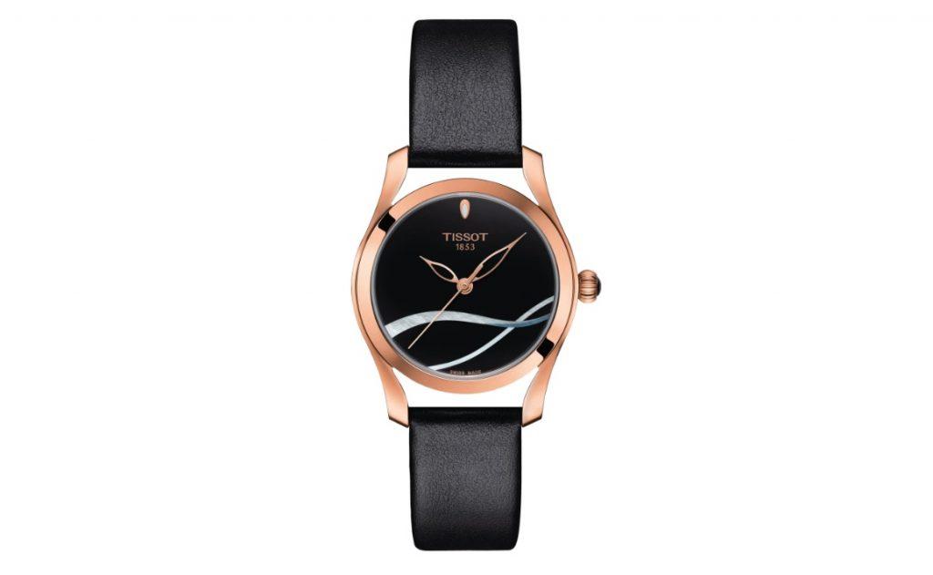 Tissot T1122103605100 T-Wave Siyah Deri Kayışlı Kadın Saati