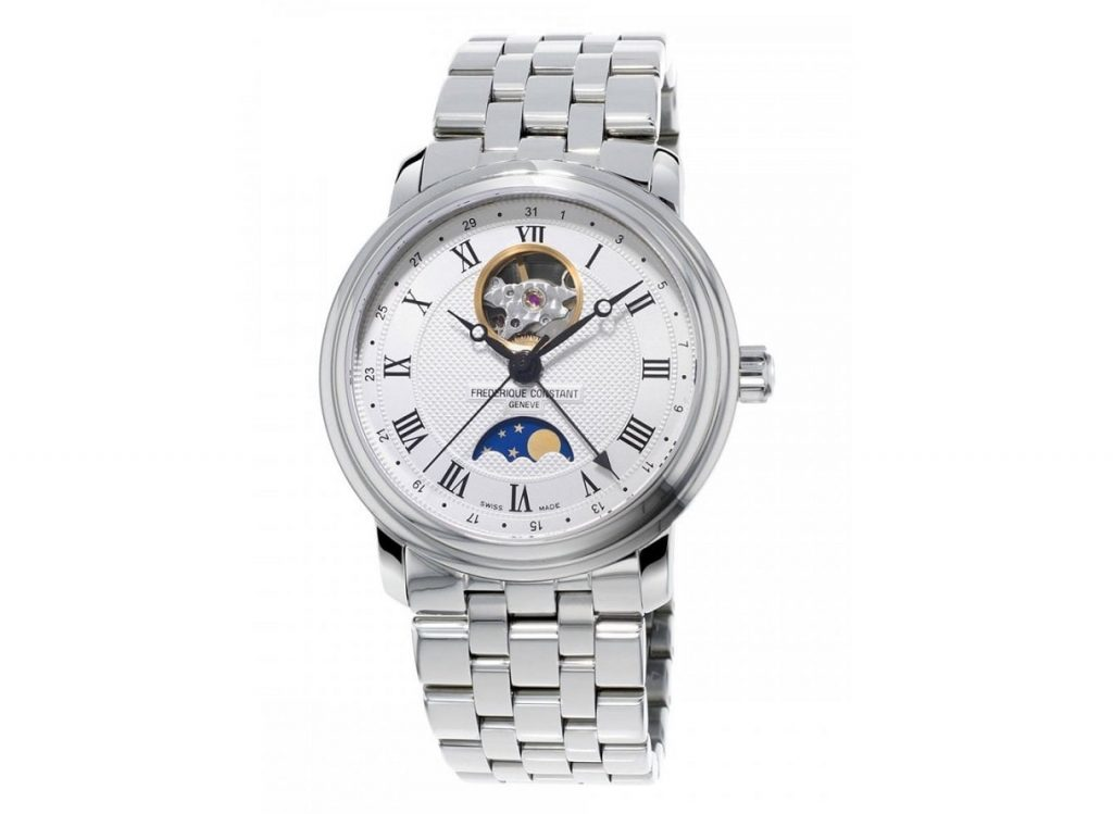 Frederique Constant Moonphase Open Heart Dial Automatic