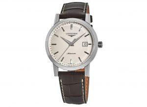 Longines 1832 Beige Dial Leather Strap Men's Watch L4.827.4.92.2